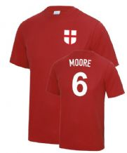 Bobby Moore 1966 England Fancy Dress Football T Shirt